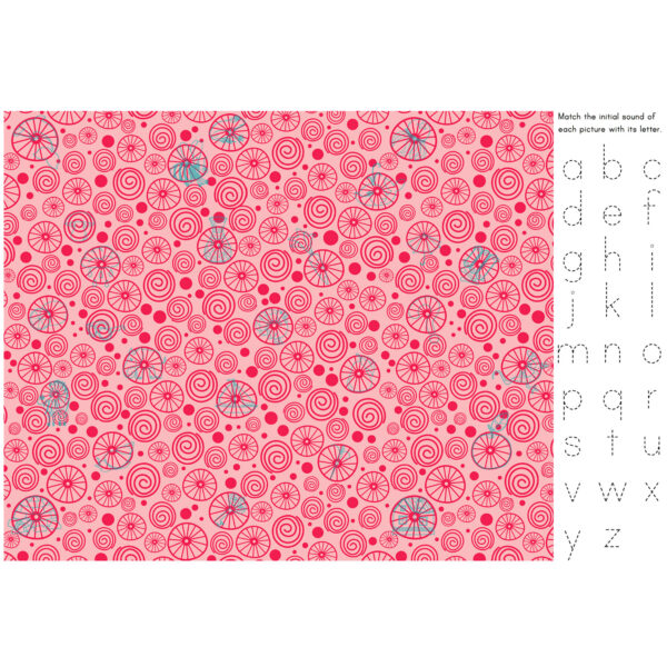 Secret Spy Alphabet sample page 2