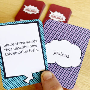 The Game of Feelings cards SQ