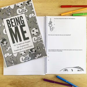 Social emotional learning journal cover