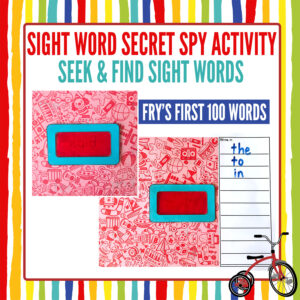 Fry Sight Words Reading Game